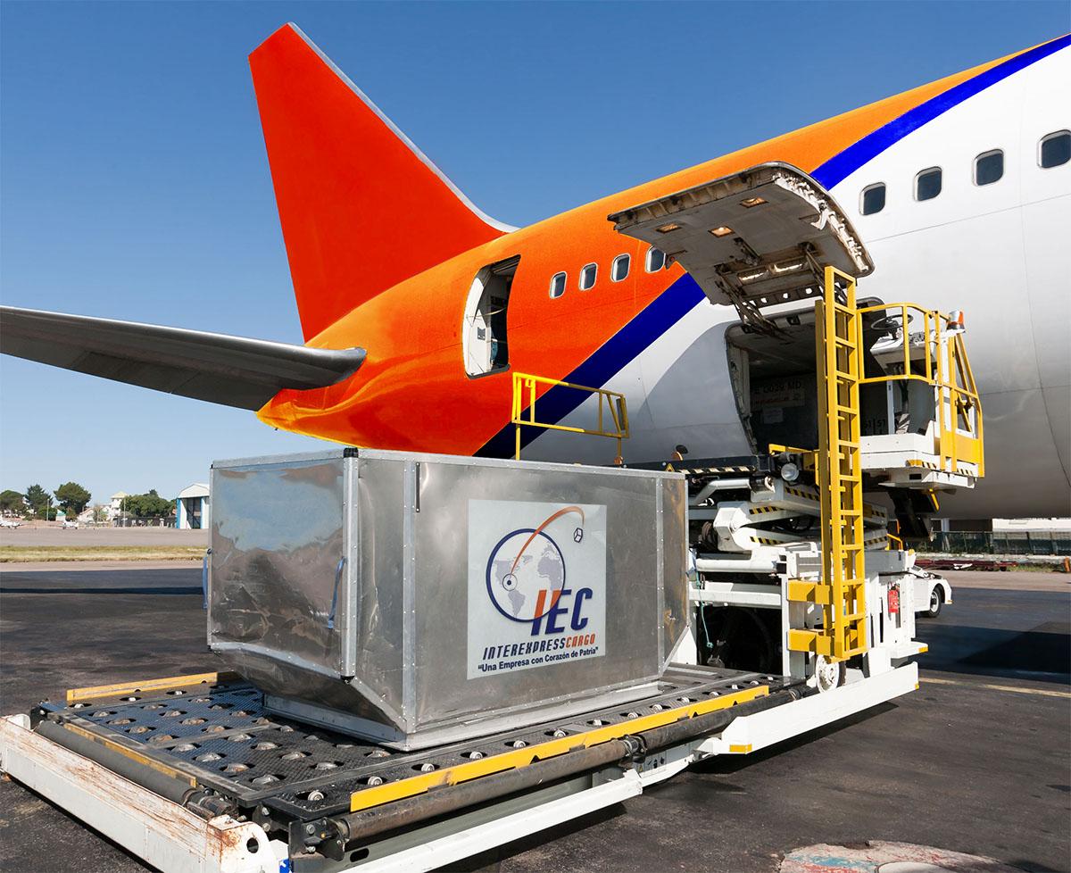 carga avion